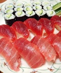 お寿司で大人のクリスマス