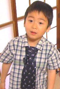 ネクタイかっこいいでしょ!