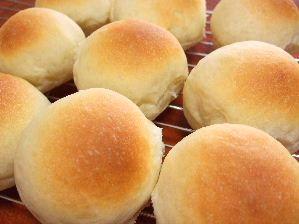 パンを焼いた