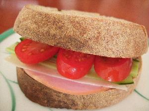 サンドイッチに。