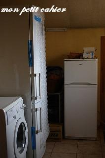 冷蔵庫が来た!