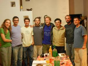 Amigos del Parana en la casa de Luis Barbiero