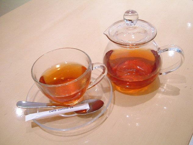 カフェコムサ 巨峰の紅茶