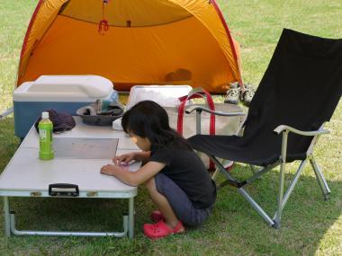 吹上海浜公園キャンプ 091