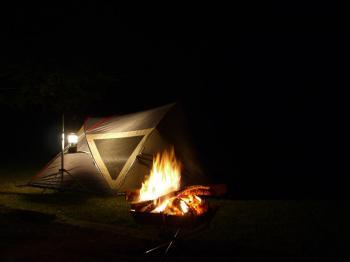 楠本川キャンプ2009.10 081
