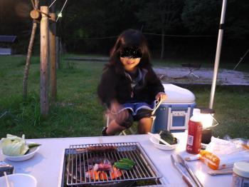 楠本川キャンプ2009.10 047