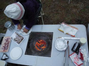 2009,11吹上海浜公園キャンプ 023 - コピー