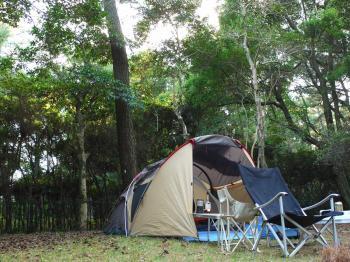 2009,11吹上海浜公園キャンプ 003 - コピー