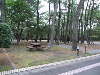 2009,11吹上海浜公園キャンプ 061
