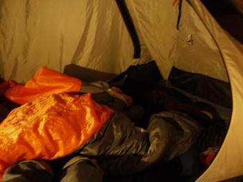 北薩摩広域公園キャンプ2009.11 135
