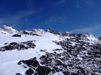 雪の韓国岳 076 - コピー