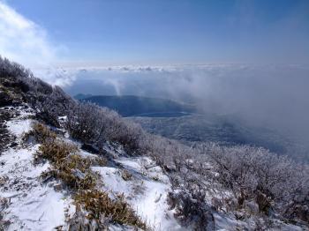 雪の韓国岳 070 - コピー
