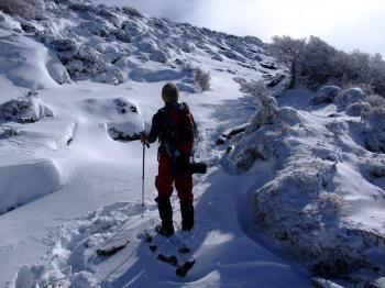 雪の韓国岳 058 - コピー