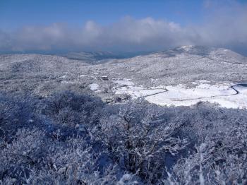 雪の韓国岳 042 - コピー
