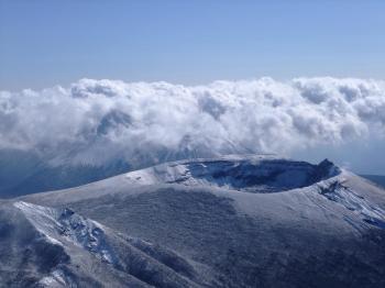 雪の韓国岳 104 - コピー