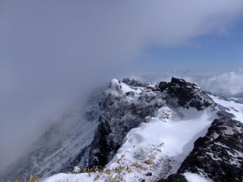 雪の韓国岳 083 - コピー