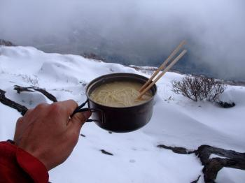 雪の韓国岳 094 - コピー