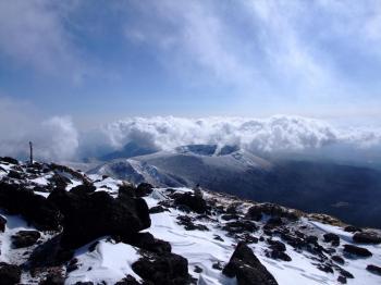 雪の韓国岳 081 - コピー