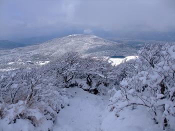 雪の韓国岳 174 - コピー