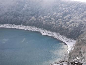 雪の大浪池 122 - コピー