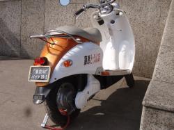 変なナンバーバイク