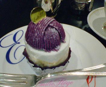 9/5紫芋のモンブラン