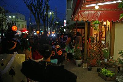 ハロウィン商店街2