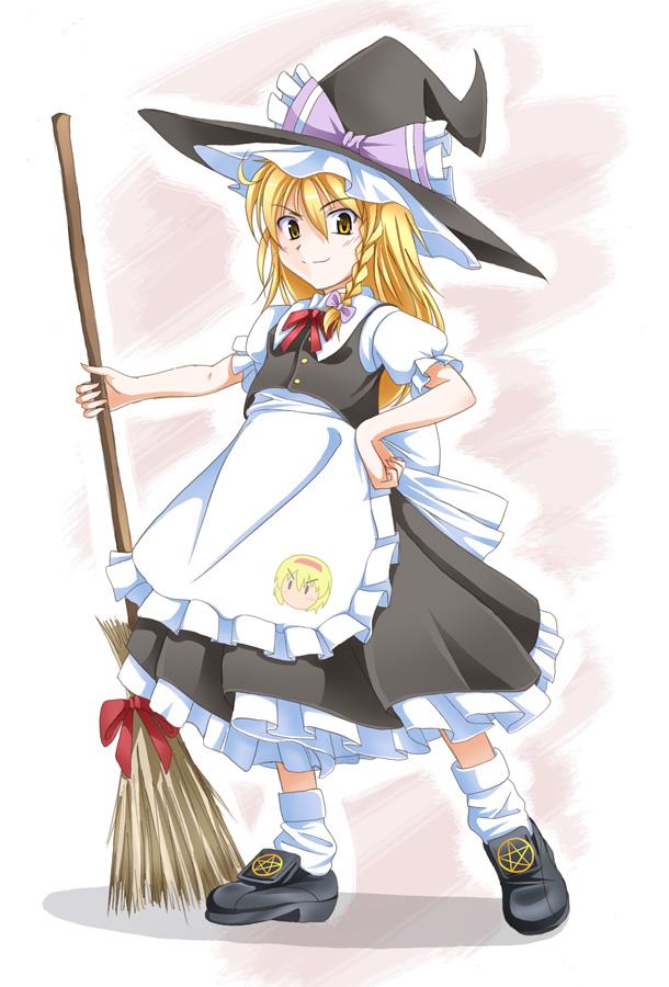 普通の黒魔法少女