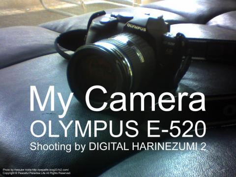 MY CAMERA OLYMPUS E-520