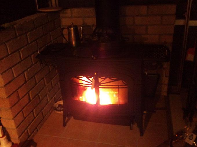 暖炉k完成