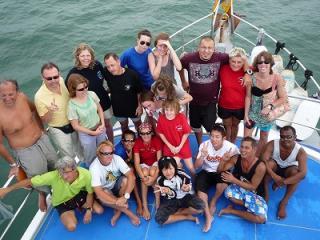 プーケット シミランクルーズ タイ 観光ツアー ダイビング