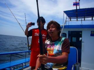 プーケット トローリング アクティビィー 釣り 観光ツアー