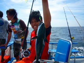 タイ プーケットアクティビィティー トローリング 釣り 観光ツアー