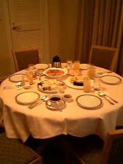 お夜食パーティー