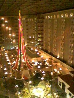 ホテルのつりー