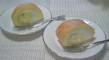 マルキーズのロールケーキ