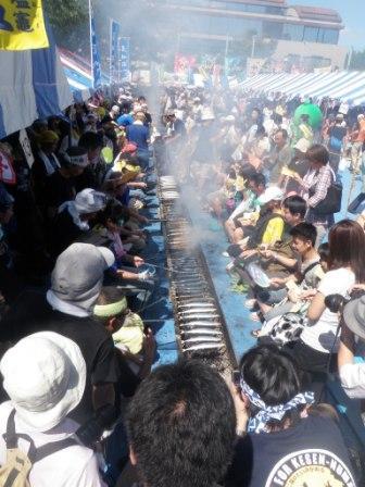 Meguro no Sanma Festival