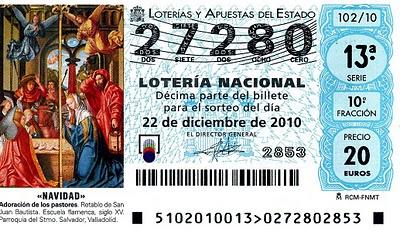 loteria 2010 Navidad