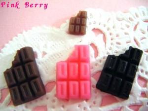 チョコレートのデコパーツ