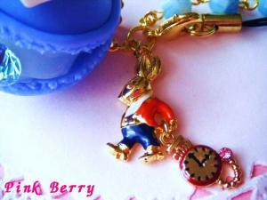 Aliceマカロン&時計ウサギ(ゴールドVer.) 時計ウサギ アップ