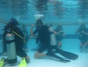 タイ・タオ島・ダイビング・ライセンスコース・プール講習