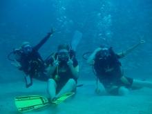 タオ島 ダイビング マンゴーベイ ダイバー