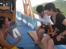 タオ島 ダイビング ダイブブリーフィング