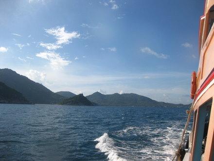 タオ島 ダイビング on the way to CP