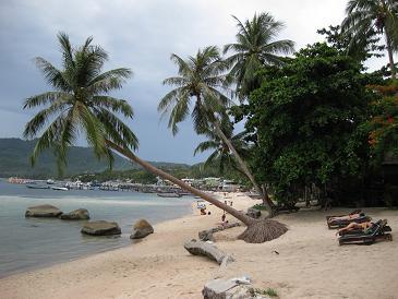 タイ・タオ島・ダイビング・景色・ビーチ