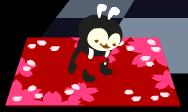 桜吹雪のマット