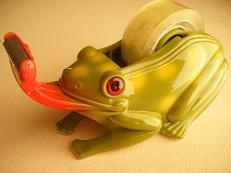 蛙テープカッター