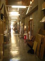 美術棟廊下
