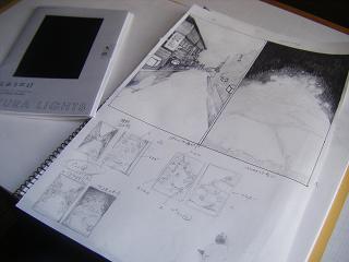 イメージ画描いてます。