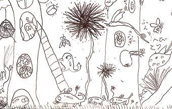 幼いころの作品3